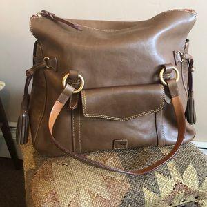 Dooney & Bourke leather satchel brand new